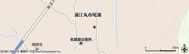 大分県佐伯市蒲江大字丸市尾浦673周辺の地図