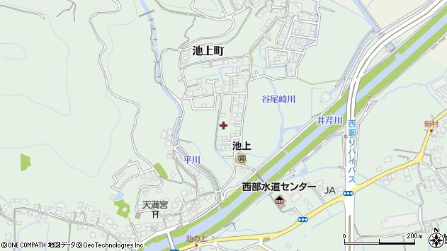 〒860-0048 熊本県熊本市西区池上町の地図