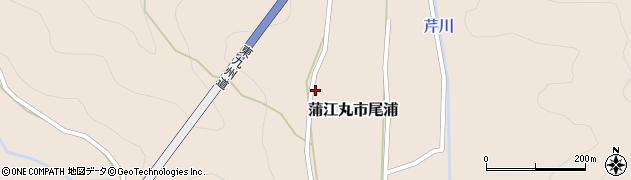 大分県佐伯市蒲江大字丸市尾浦733周辺の地図