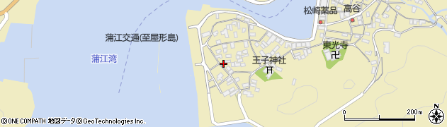 大分県佐伯市蒲江大字蒲江浦2647周辺の地図