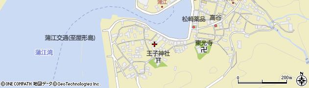 大分県佐伯市蒲江大字蒲江浦2520周辺の地図