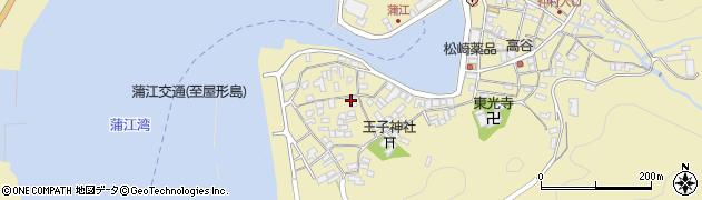 大分県佐伯市蒲江大字蒲江浦2598周辺の地図