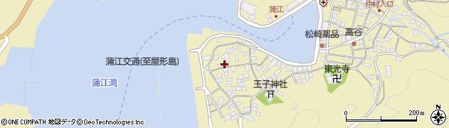 大分県佐伯市蒲江大字蒲江浦2635周辺の地図