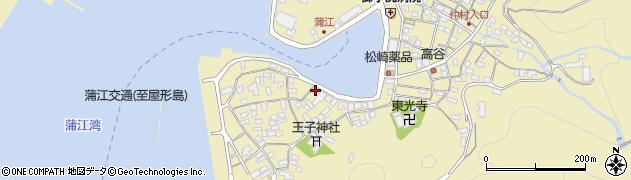 大分県佐伯市蒲江大字蒲江浦2495周辺の地図
