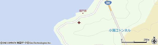 大分県佐伯市蒲江大字猪串浦132周辺の地図