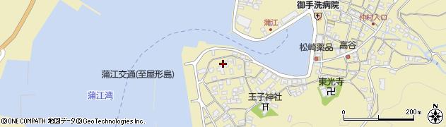 大分県佐伯市蒲江大字蒲江浦2629周辺の地図