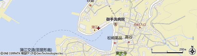 大分県佐伯市蒲江大字蒲江浦3282周辺の地図