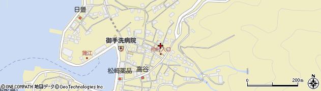 大分県佐伯市蒲江大字蒲江浦2112周辺の地図