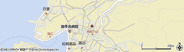大分県佐伯市蒲江大字蒲江浦2091周辺の地図