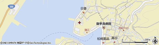 大分県佐伯市蒲江大字蒲江浦3363周辺の地図
