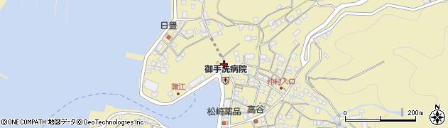 大分県佐伯市蒲江大字蒲江浦2109周辺の地図