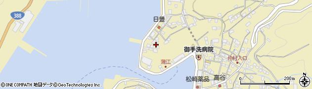 大分県佐伯市蒲江大字蒲江浦3358周辺の地図