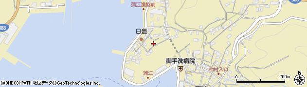 大分県佐伯市蒲江大字蒲江浦3368周辺の地図