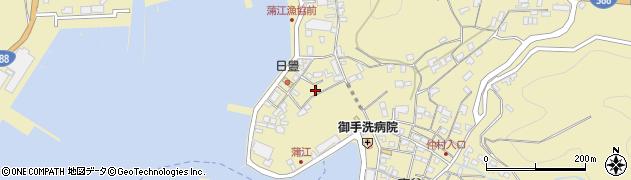 大分県佐伯市蒲江大字蒲江浦5368周辺の地図