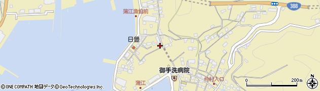 大分県佐伯市蒲江大字蒲江浦3371周辺の地図