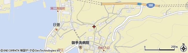 大分県佐伯市蒲江大字蒲江浦3293周辺の地図