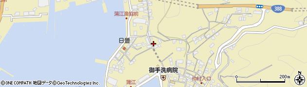 大分県佐伯市蒲江大字蒲江浦3376周辺の地図