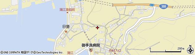 大分県佐伯市蒲江大字蒲江浦3339周辺の地図