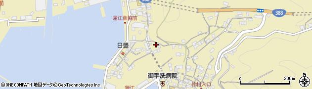 大分県佐伯市蒲江大字蒲江浦3375周辺の地図