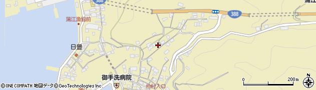 大分県佐伯市蒲江大字蒲江浦1840周辺の地図