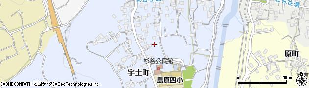 長崎県島原市宇土町の地図 住所一覧検索 地図マピオン