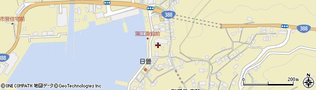 大分県佐伯市蒲江大字蒲江浦新町周辺の地図