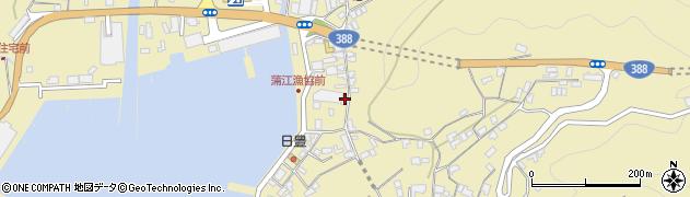 大分県佐伯市蒲江大字蒲江浦3385周辺の地図