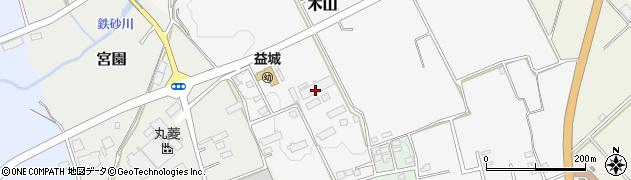 熊本県益城町(上益城郡)周辺の地図
