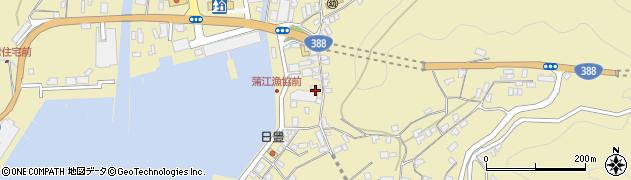 大分県佐伯市蒲江大字蒲江浦3386周辺の地図