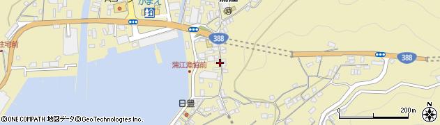 大分県佐伯市蒲江大字蒲江浦3391周辺の地図