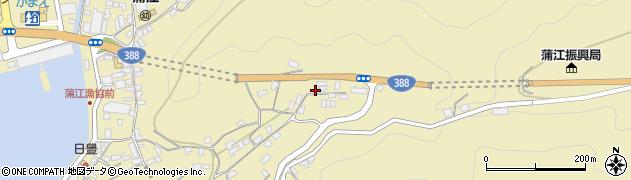 大分県佐伯市蒲江大字蒲江浦1660周辺の地図