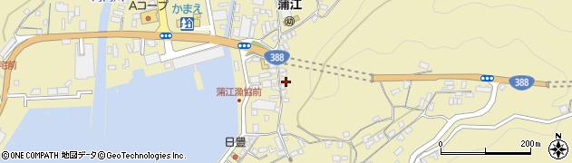 大分県佐伯市蒲江大字蒲江浦3393周辺の地図
