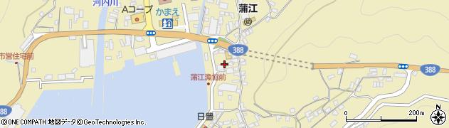 大分県佐伯市蒲江大字蒲江浦3399周辺の地図