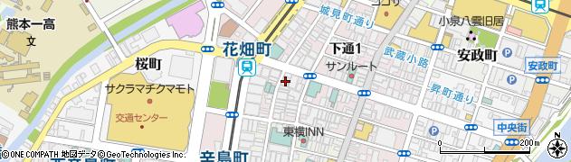 夢蘭周辺の地図