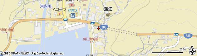 大分県佐伯市蒲江大字蒲江浦2-3407周辺の地図