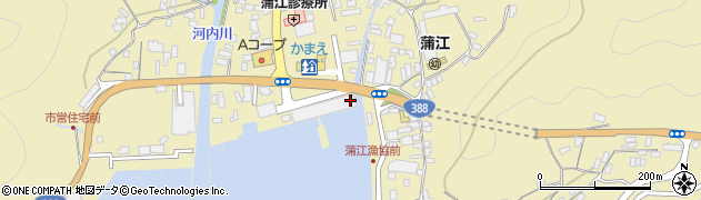 大分県佐伯市蒲江大字蒲江浦3381周辺の地図