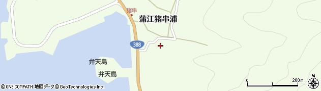 大分県佐伯市蒲江大字猪串浦周辺の地図