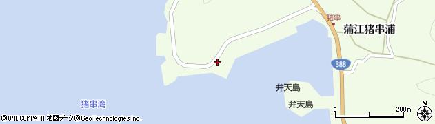 大分県佐伯市蒲江大字猪串浦967周辺の地図