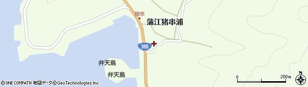 大分県佐伯市蒲江大字猪串浦1006周辺の地図