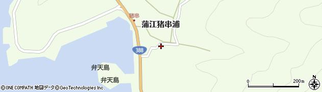 大分県佐伯市蒲江大字猪串浦398周辺の地図