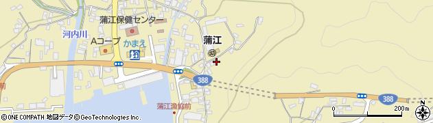 大分県佐伯市蒲江大字蒲江浦3429周辺の地図