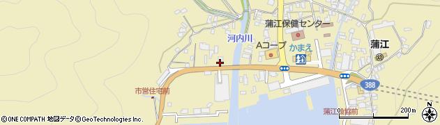 大分県佐伯市蒲江大字蒲江浦4491周辺の地図