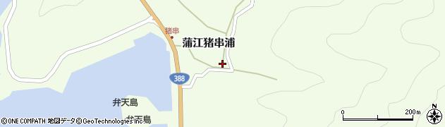 大分県佐伯市蒲江大字猪串浦394周辺の地図