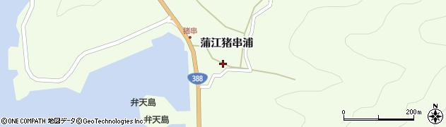 大分県佐伯市蒲江大字猪串浦428周辺の地図