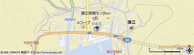 大分県佐伯市蒲江大字蒲江浦5104周辺の地図