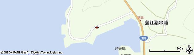 大分県佐伯市蒲江大字猪串浦948周辺の地図