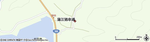 大分県佐伯市蒲江大字猪串浦515周辺の地図
