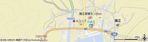 大分県佐伯市蒲江大字蒲江浦3553周辺の地図