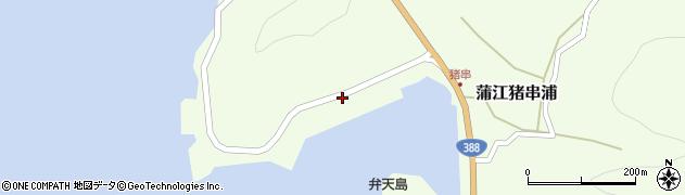 大分県佐伯市蒲江大字猪串浦946周辺の地図