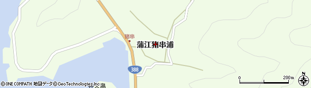 大分県佐伯市蒲江大字猪串浦510周辺の地図